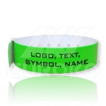 VINYL L-Shaped Wristbands 19mm