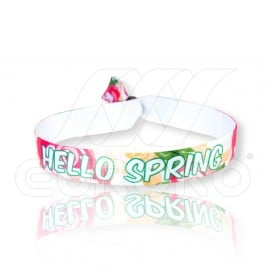 Hello Spring - Fabric Wristbands (15mm) SALE!