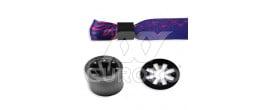 Plastic Ring Black (self-closing) - +€0.010 (+€0.012 Incl. Tax)